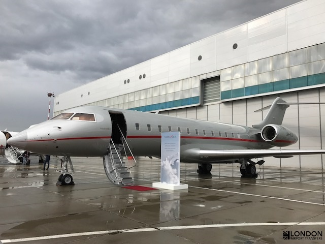 Bombardier Global Express | London Airport Transfers