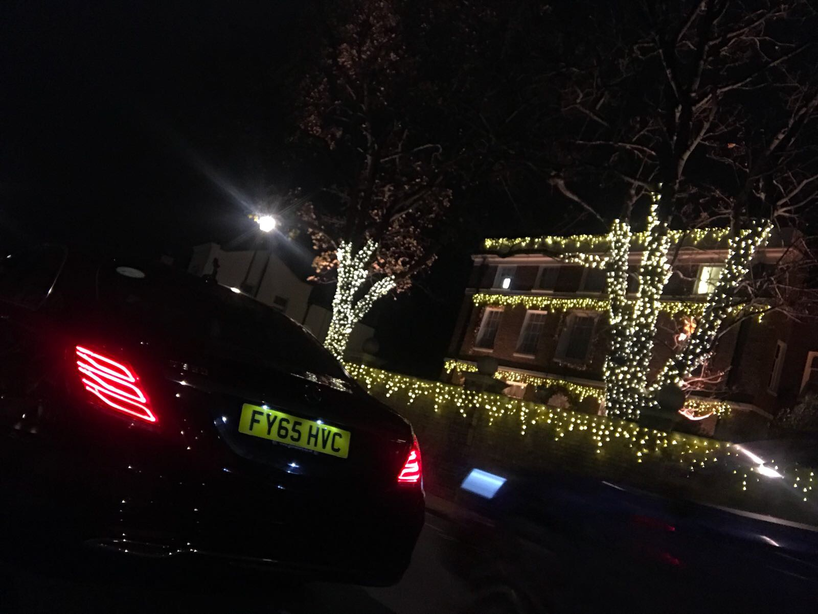 Christmas lights | London Airport Transfers