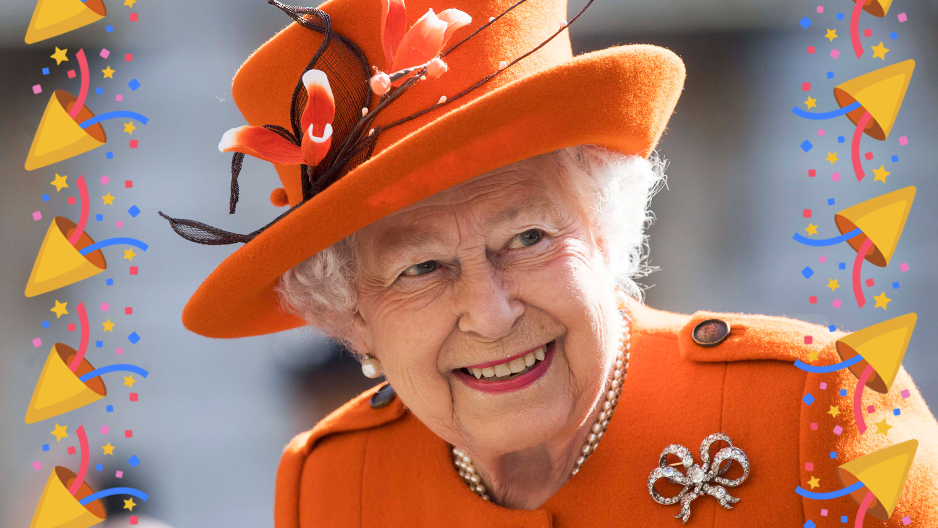 Queen Elizabeth's birthday - London airport transfer.