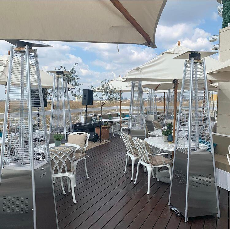The Polo Lounge At The Dorchester Rooftop - London Airport Transfers