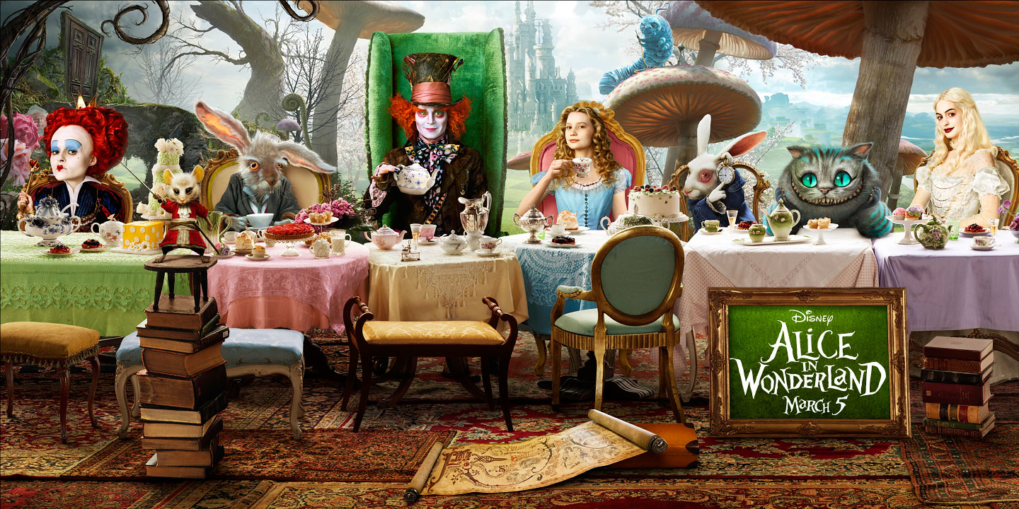 Alice in Wonderland Coin - London Airport Transfers